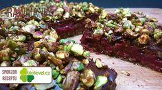 Pekanový koláč s karamelovými pistáciemi