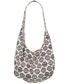 Owl Canvas Handbag - Forever 21 - $22.80
