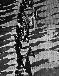 Fred Stein Marching Shadows, 1938