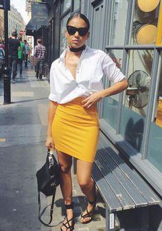 ecstasymodels: Sunskirt @hm skirt , @riverisland Top , @zara...