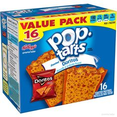 Frosted Doritos Gross Food, Weird Food, Fake Food, Weird Oreo Flavors, Pop Tart Flavors, Funny Food Memes, Food Humor, Snack Items, Snack Recipes