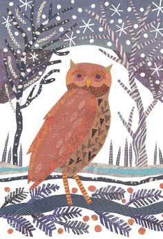 'Winter Owl' by Jane Robbins