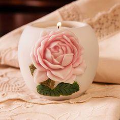 Ibis & Orchid Cottage Rose Votive