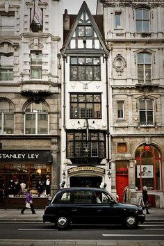 Black Car, London, England