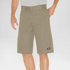 5ae26329d4 Dickies Men's Big & Tall Relaxed Fit Twill 13 Multi-Pocket Work Shorts-  Khaki (Green) 46