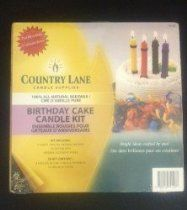 Country Lane Beeswax Kit- Birthday Cake Candle Kit