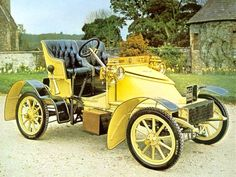 Gatsby. This reminds me of Gastby because he drove a yellow car like this. He is also in to the best of the best.