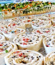 Party Appetizer Idea | Cream Cheese Ranch Tortilla Roll-ups Recipe