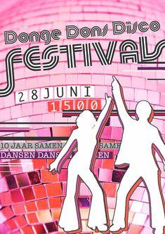 Disco-Festival thema op Zomerfeest Dongeschool in samenwerking met DONS.