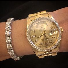 """lady rolex by @stephaniegottlieb"""