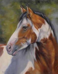 "Daily Paintworks - ""Paint Horse"" - Original Fine Art for Sale - © Tracy Klett"