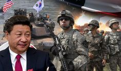 CHINA has demanded the US military stops carrying out exercises on the Korean peninsula in a bid to cool off tensions between North Korea state and the Trump administration.