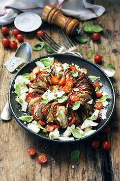 [Miam] Y'a un couillon dans l'potager! mon tian en salade aux légumes du potager... ou presque! - Dorian cuisine @DorianNieto