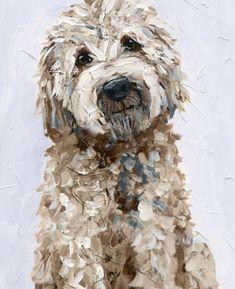 Goldendoodle Art, Labradoodle, Goldendoodles, Red Poodles, Service Dogs, Dog Portraits, Pilgrim, Dog Art, Animal Kingdom