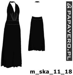 Gotowy wykrój - suknia dla Julity