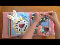 Livro de Pano / Quiet Book #3 por Pé de cor - Contos de Fadas - YouTube
