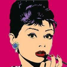 Katharine Hepburn (Andy Warhol art)