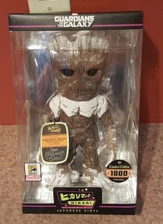 Funko Marvel Hikari Vinyl Pop Frosted Groot Guardians Galaxy SDCC 2015 Exclusive | eBay