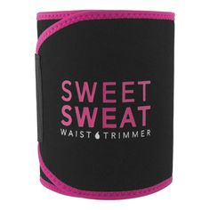 Sports Research Sweet Sweat Premium Waist Trimmer for Men & Women. Includes Free Sample of Sweet Sweat Workout Enhancer!, Large: Width X Length, Pink - Best Weight Loss Tips Ideas For Logos, Stomach Wrap, Waist Trainer For Men, Ab Belt, Sweat Belt, Trimmer For Men, Sweat Workout, Waist Workout, Workout Accessories