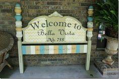 {DIY} House Number Ideas - Alderberry Hill