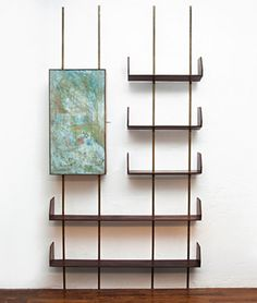 OSVALDO BORSANI - shelving system with integrated bar - manufactured by ADRIANO…