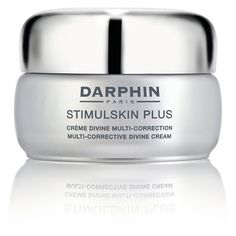 Stimulskin Plus Devine Cream from Darphin $292,00 Contains 'Sea Emerald' and Commipheroline which contours the skin. It destroys hollow zones of the face. Also tightens and lifts the skin.