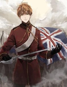 Hetalia (ヘタリア) - England / The United Kingdom (イギリス)