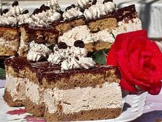 Romanian Desserts, Pastry Cake, Tiramisu, Biscuits, Caramel, Food And Drink, Sweets, Ethnic Recipes, Deserts