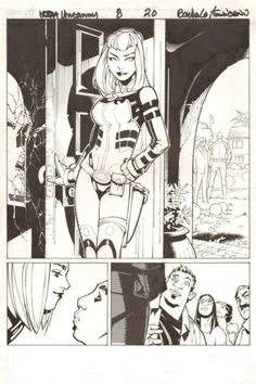 brianmichaelbendis:  Uncanny X-Men #8, Page 20 by Chris Bachalo & Tim Townsend