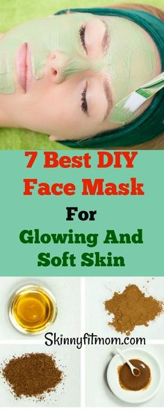 Skin Care Advice For Better Skin Now The best Homemade Face masks to treat acne and scars. Get a glowing, smooth skin in just minutes! Best Homemade Face Mask, Best Diy Face Mask, Face Scrub Homemade, Homemade Skin Care, Homemade Moisturizer, Homemade Masks, Skin So Soft, Smooth Skin, Natural Skin
