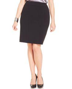 e550a181b38 Nine West Plus Size Crepe Skirt Women - Skirts - Macy s