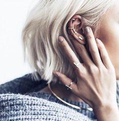 Ear Piercings Ideas at MyBodiArt More