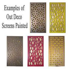 OutDeco Timber Screens