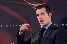 Henry Cavill attends the premiere of the film 'Man of Steel' at Capitol Cinema in Madrid.