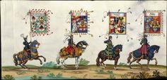 Albrecht Altdorfer (c. 1480 -1538), Hans Burgkmair (1473-1531), Albrecht Dürer (1471-1528) & others — Triumphal Procession, 1517 (1440x698)