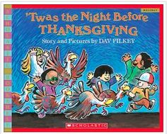 Literacy Activities for the book - 'Twas the Night Before Thanksgiving  {32 pages, $}  #Thanksgiving