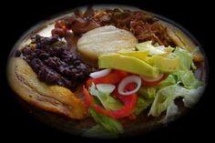 Pabellon con Chivo,comida tipica de Lara. Venezuela