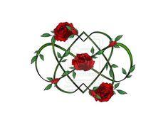 Infinity hearts and roses by rockgem on DeviantArt Rose Tattoos, Flower Tattoos, Body Art Tattoos, New Tattoos, Heart Tattoos, Celtic Tattoos, Music Tattoos, Couple Tattoos, Heart With Infinity Tattoo
