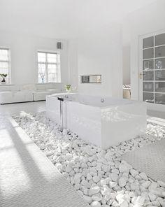 Nur wie hält man die steine sauber?