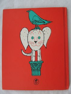 The smallest elephant in the world (back cover). Illustrated by Milton Glaser.