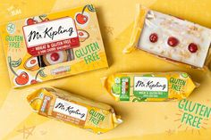 Mr Kipling's Gluten Free Range on Packaging of the World - Creative Package Design Gallery