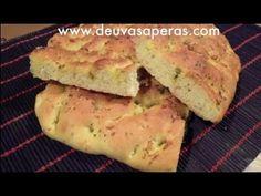 Cómo hacer Pan Italiano - Receta de Focaccia (Hogaza de pan)