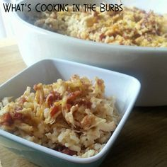 Smoked Gouda Bacon Chicken and Rice Bake