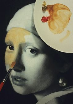 """Vermeer's Artistic Technique: Painting an Oil Copy of """"Girl with a ... Glazing examples - an excellent tutorial!"""