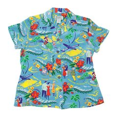 Hawaiian shirts for women | Hawaiian Hospitality (Women's Shirt)
