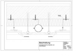 D-04-0006 horizontaler Schnitt an Keramik- und Natursteinfassade