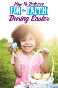 Easter doesn't have to be all about fun and no faith or all about faith with no fun. There are ways to combine the two and make memories together as a family! Here are some ideas on how to balance fun and faith this Easter!