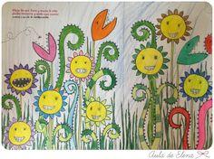 El gran álbum para dibujar, colorear y garabatear en el Aula de Elena 10