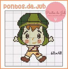 Stitch Character, Kawaii Cute, Plastic Canvas Patterns, Pixel Art, Hand Embroidery, Crochet Patterns, Cross Stitch, Tapestry, Moana