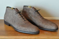Hippopotamus chukka boot by George Cleverley. Now, this IS rather pretty in my opinion. I'd wear them anyway.